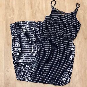 Maurices Royal Blue Maxi Dress